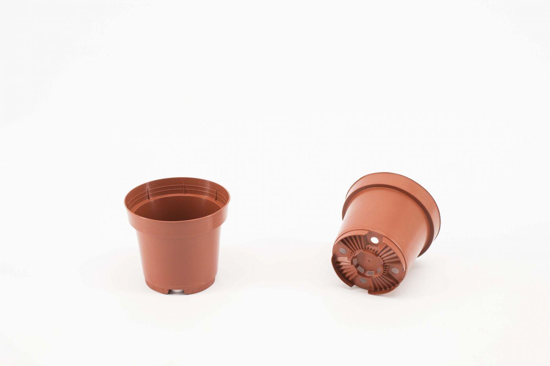 Pot 12 cm drainmax Terracotta