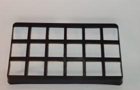 Maratray 18 vaks 9x9 cm ZW