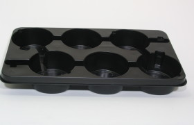 B-Tray 6x17 cm BG ZW