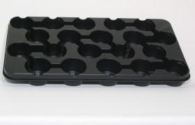 B-Tray 20x9 cm BG ZW