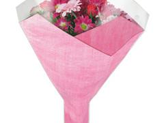 Hzn 52x35x10cm OPP40mu Duo Fibre roze