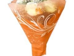 Hzn 52x44x12cm OPP50mu Shade Oranje + M-stans