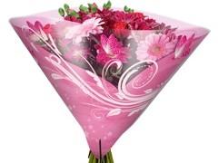 Hzn 35x35cm angelo OPP50mu Shade roze