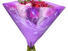Hzn 35x35cm angelo OPP50mu Shade lila
