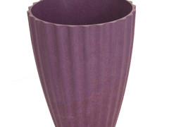 Pot Orchid bamboe ES12xH15cm paars