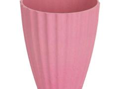 Pot Orchid bamboe ES12xH15cm roze