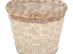Pot Jakarta bamboe ES17xH15cm greywash