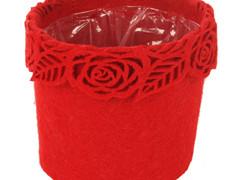 Pot Eden vilt ES10,5xH13cm rood