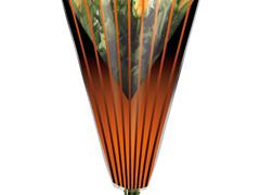 Hzn 50x35x10cm  OPP40mu Duo Lines oranje / zwart