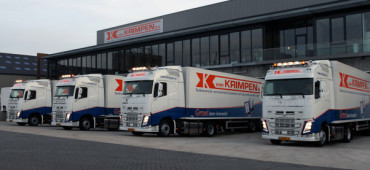 Van Krimpen replaces trucks