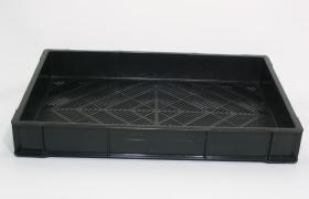 Bak 60x40x7,5 cm ZW 6mm bodemgaten