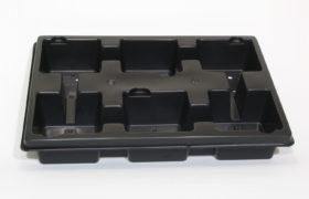 PET tray duitse maat 6 x 11*11cm BG