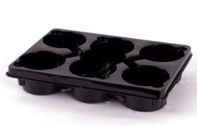 PET tray duitse maat 6 x 13cm 5°