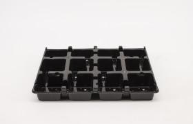 PET Tray duits 12x9*9 cm BG