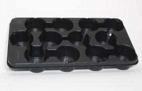 B-Tray 12x12cm OG ZW