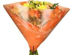 Hzn 35x35cm angelo OPP50mu Shade oranje