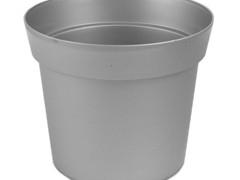 Pl. Pot  Basic laag 18cm  zink