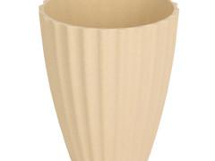 Pot Orchid bamboe ES12xH15cm creme