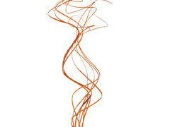Curly Ting Ting oranje 100gr (circa 100 takken)