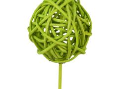 Bijsteker Bruce ball 5cm+50cm stok l. groen
