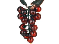 Bijsteker druif 7cm+50cm stok rood