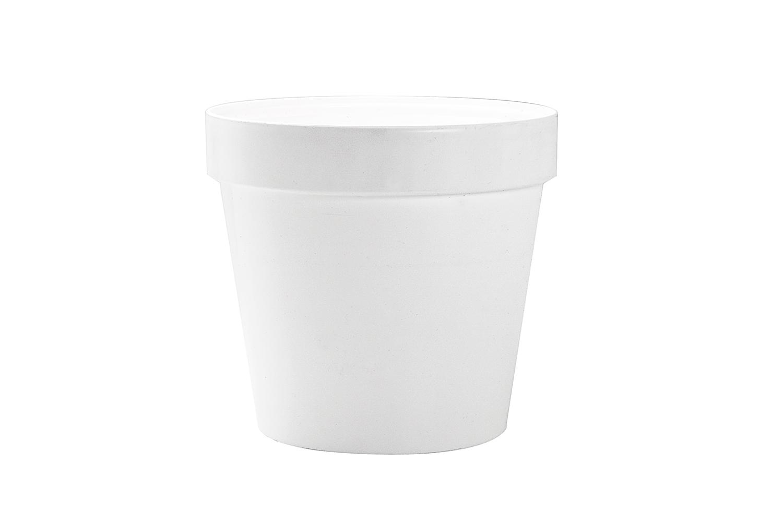 Classic pot white