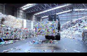 Hoe Van Krimpen de plastic-cirkel rond maakt