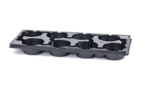 PET tray export 8 x 13cm 5°
