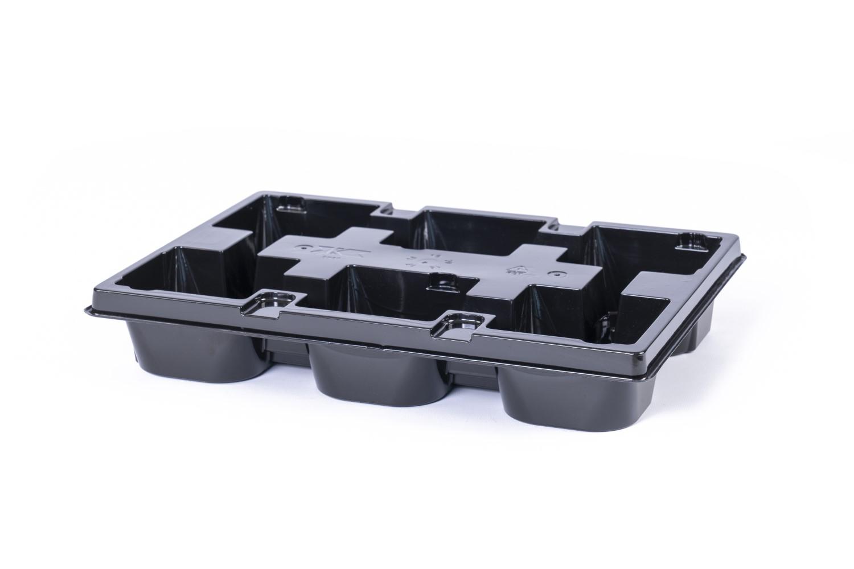 Pet tray Duits 6xVR